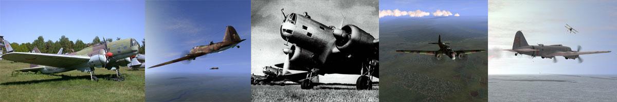 Ilyushin DB-3 - Ильюшин ДБ-3