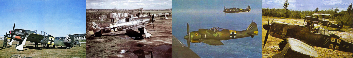 Focke-Wulf Fw 190A/F Würger or 'Butcher Bird' main photo gallery table