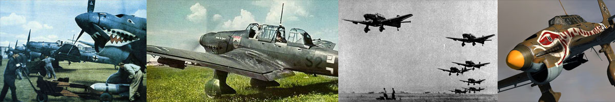 Junkers Ju 87B that served with Schlachtgeschwader 77 - SG77