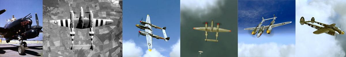 USAAF P-38 Lightning List