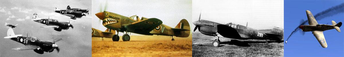 Curtiss P-40 Kittyhawk List