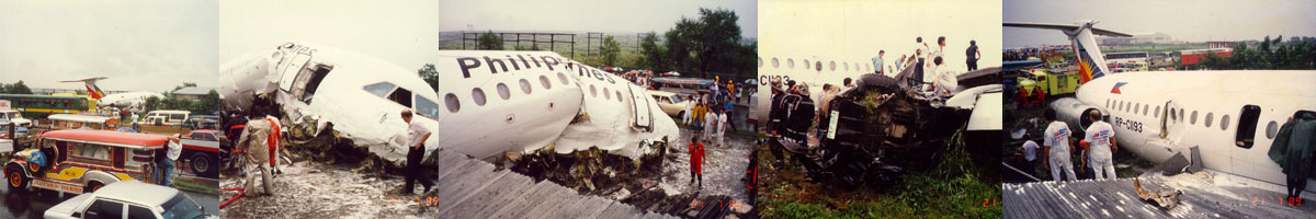 Philippines Airlines Crash