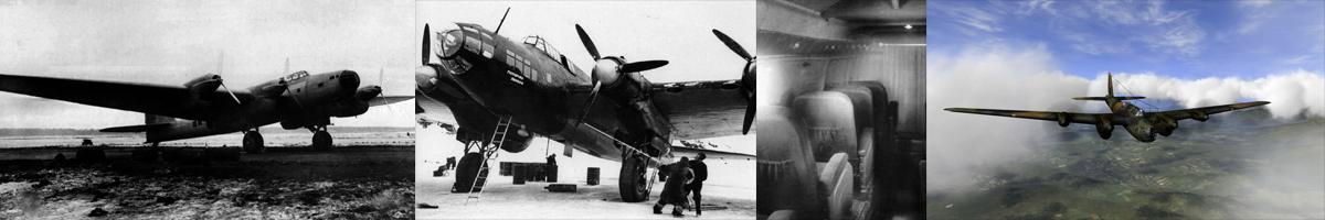 Soviet Airforce Petlyakov Pe-8 photo gallery