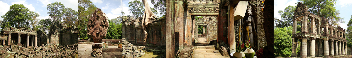 Header Preah Khan Temple