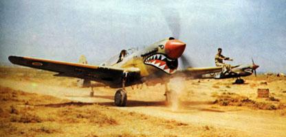 RAF 112 Squadron Kittyhawks