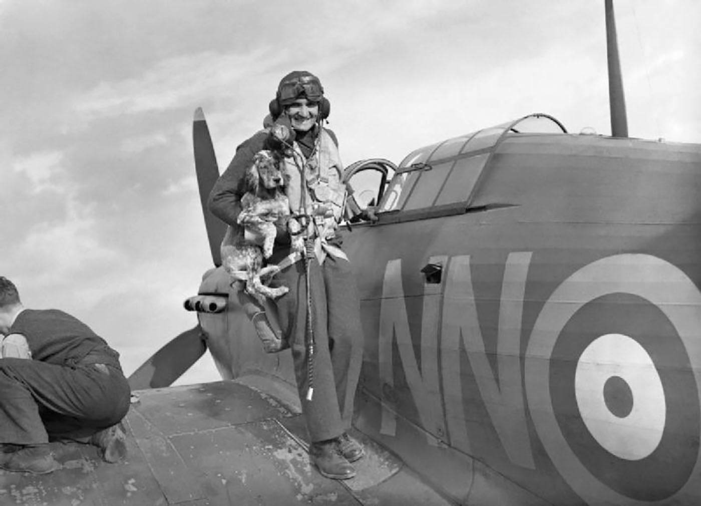 Sergeant Bohumír Fürst, (Czechoslovakian) 310SQN., RAF