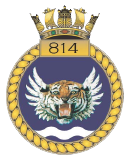 emblem Royal Navy FAA 814NAS