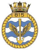 emblem Royal Navy FAA 815NAS