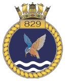 emblem Royal Navy FAA 829NAS