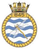 emblem Royal Navy FAA 845NAS