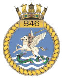 emblem Royal Navy FAA 846NAS
