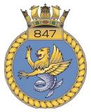 emblem Royal Navy FAA 847NAS