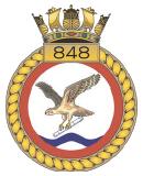emblem Royal Navy FAA 848NAS