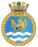 emblem Royal Navy FAA 849NAS