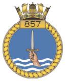 emblem Royal Navy FAA 857NAS