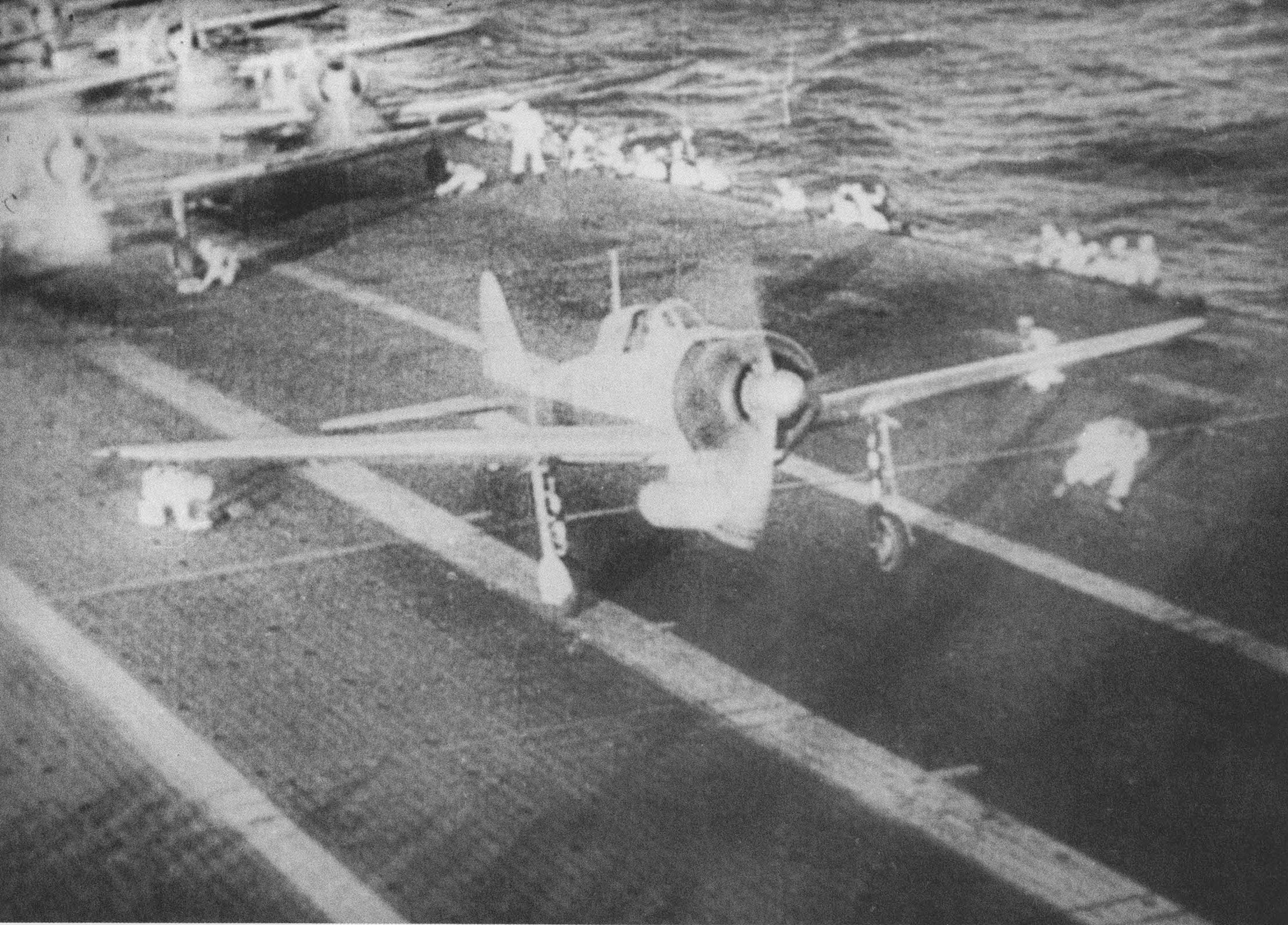 A6m Zeros taking off from Shokaku to attack Pearl Harbor 7th Dec 1941 02