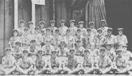 Asisbiz Archive Japanese Naval photo showing group photo of fighter pilots aboard Shokaku Nov 1943 01