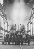 Asisbiz Archive photo showing HIJMS carrier Shokaku at Yokosuka shipyards Japan 30 May 1939 01