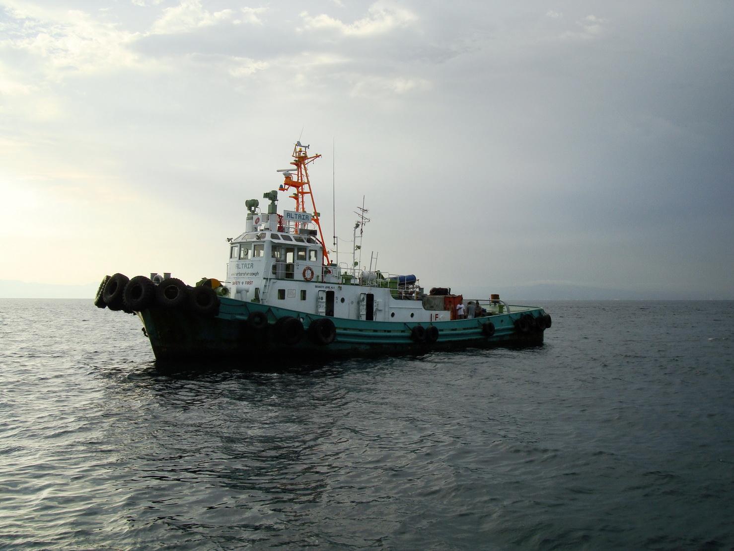 Tugboat Altair wwwharborstarcomph Batangus Philippines 01