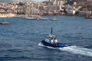 Tugboat Ixus IMO 9417878 Kusadasi Liman Harbor Aegean Turkey 01