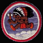 322nd Bombardment Group 556BS
