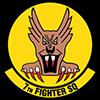 USAAF 7th Fighter Squadron emblem