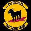 USAAF 8th Fighter Squadron emblem
