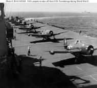Asisbiz CV 14 USS Ticonderoga flight Deck 1945 01