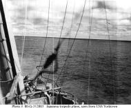 Asisbiz USS Yorktown during Battle of Midway 02