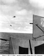 Asisbiz USS Yorktown during Battle of Midway 03