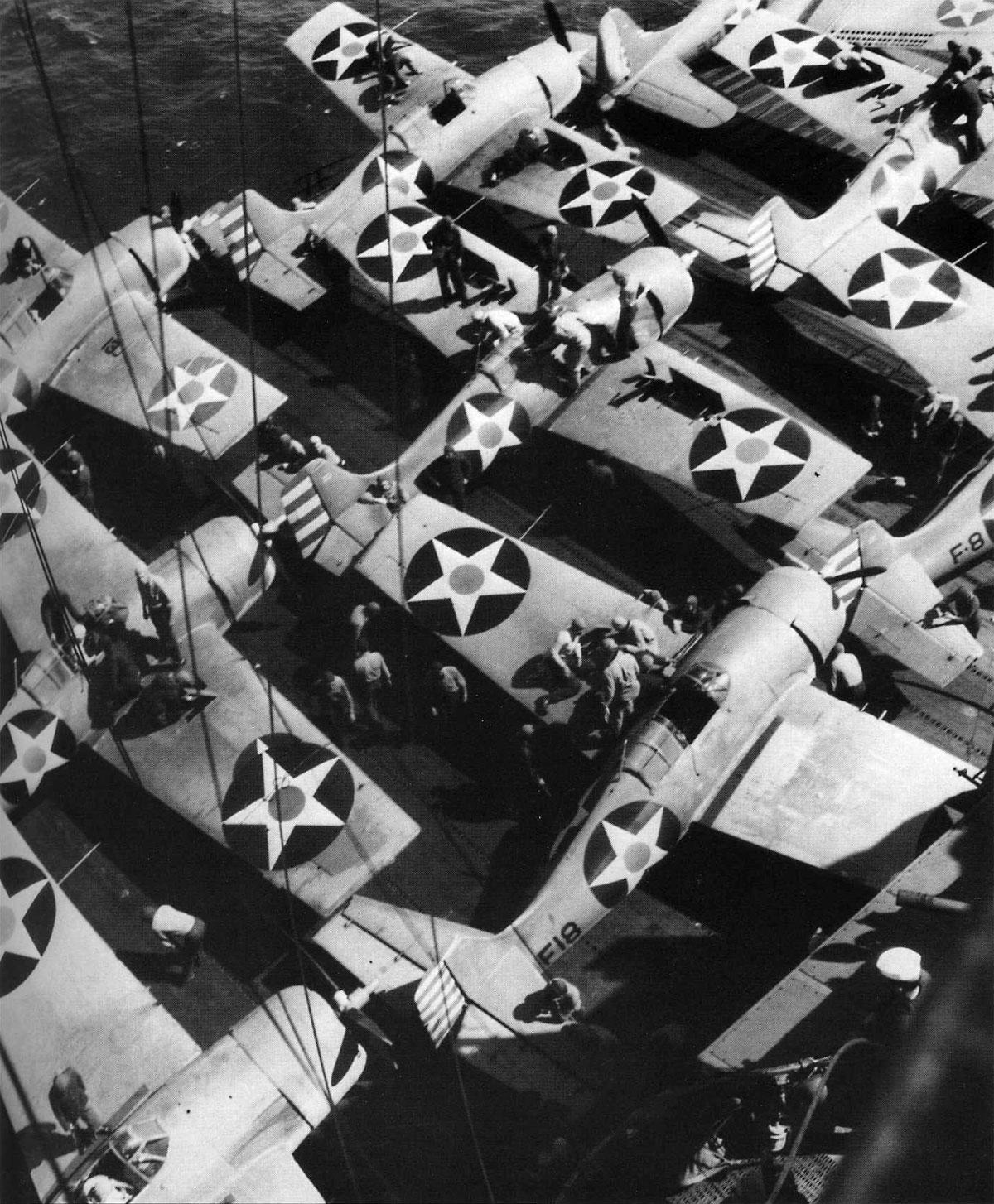 Grumman F4F 4 Wildcat VF 6 6F2 USS Enterprise 1942 02