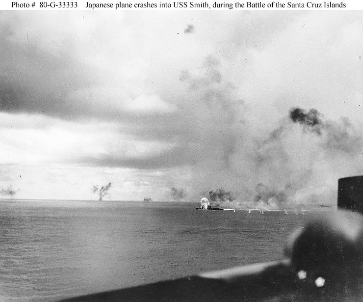 USS Smith during Battle Santa Cruz 01
