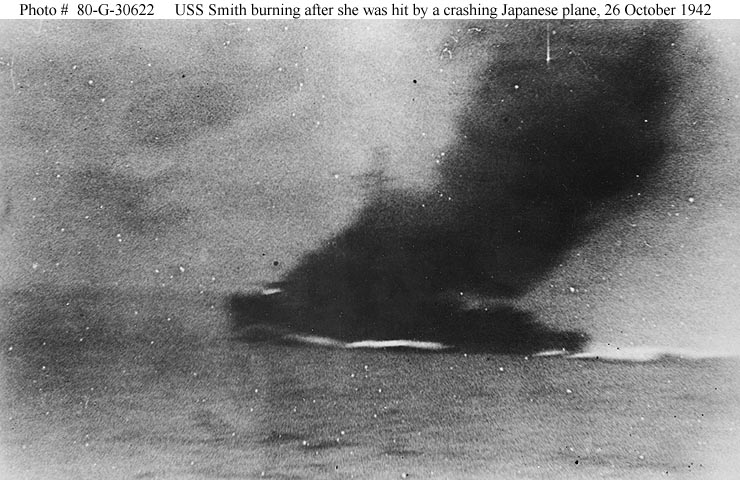 USS Smith during Battle Santa Cruz 02