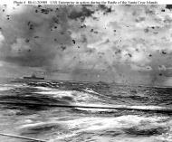 Asisbiz CV 6 USS Enterprise during Battle Santa Cruz 01
