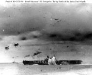 Asisbiz CV 6 USS Enterprise during Battle Santa Cruz 02