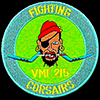 USN Fighting Squadron VMF-215 patch